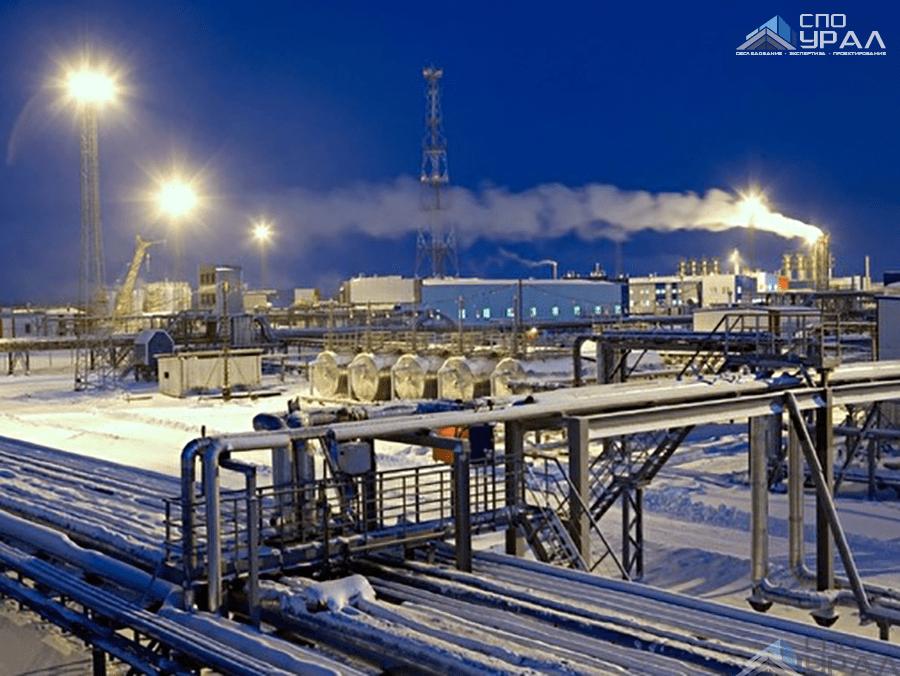 87 объектов АО «Евротэк» на территории Сысконсыньинского газового месторождения