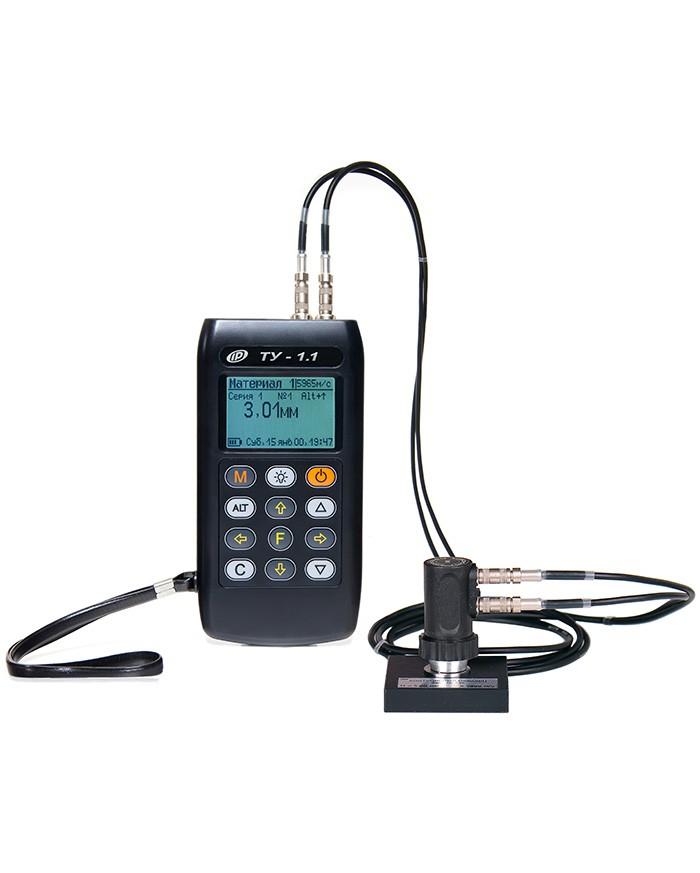 ТУ-1.1 Ультразвуковой толщиномер предназначен для определения толщины металлов, выявление мест локальной коррозии