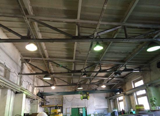 Обследование строительных конструкций покрытия и кровли здания электроремонтного цеха