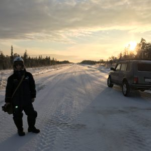 Обследование в условиях крайнего севера