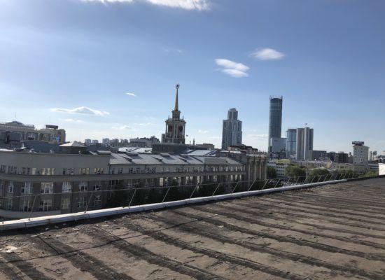 Административное здания в г. Екатеринбург.